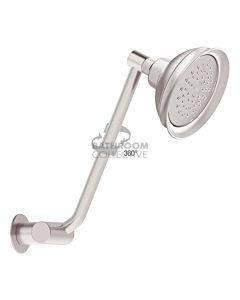Conserv - Paddington/Clicklock Arm Shower SATIN CHROME