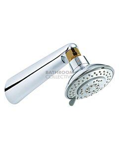 Conserv - Breeze/Grand Arm Shower CHROME/GOLD