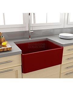 Paco Jaanson - Bocchi Casa Ceramic Kitchen Butler Sink 600mm GLOSS RED