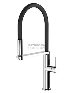 Phoenix Tapware - Blix Flexible Hose Kitchen Sink Mixer Chrome