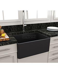 Paco Jaanson - Bocchi Casa Ceramic Kitchen Butler Sink 600mm MATT ANTHRACITE