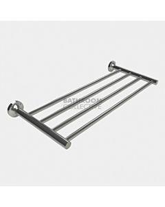 Emroware - Diamond Four Bar Towel Rack 600mm Polished Stainless Steel