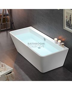 Gallaria - Liore Acrylic Back To Wall Bath 1495mm