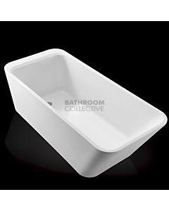 Gallaria - Velle Acrylic Back To Wall Bath 1600mm