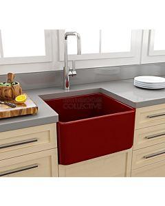 Paco Jaanson - Bocchi Casa Ceramic Kitchen Butler Sink 500mm GLOSS RED