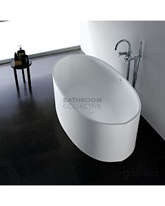 Gallaria - Trevisio Cast Stone Solid Surface Bath 1640mm