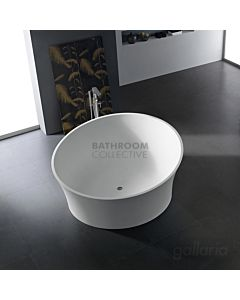Gallaria - Avia Round Cast Stone Solid Surface Bath 1800mm