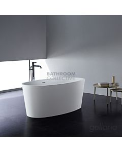 Gallaria - Savona Cast Stone Solid Surface Bath 1505mm