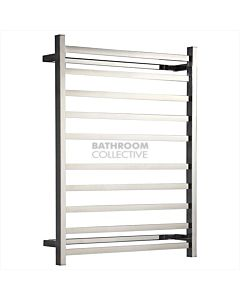 Hotwire - 10 Bar Square Towel Rail Ladder 900H x 700W x 122D