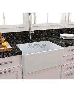 Paco Jaanson - Bocchi Casa Ceramic Kitchen Butler Sink 600mm MATTE WHITE