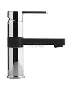 Faucet Strommen - Zeos Basin Mixer Matte Black & Chrome 35100-MB&CHR
