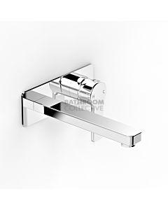Faucet Strommen - Zeos Wall Basin Mixer 250mm 35122-11
