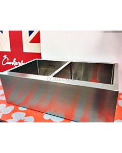 Canterbury - Stainless Steel Double Bowl Apron Butler Sink