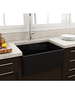 Paco Jaanson - Bocchi Casa Ceramic Kitchen Butler Sink 600mm MATTE BLACK