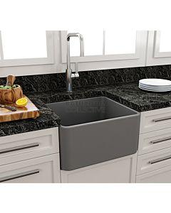 Paco Jaanson - Bocchi Casa Ceramic Kitchen Butler Sink 500mm MATTE GREY