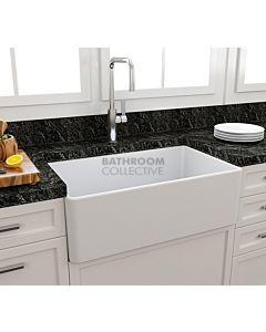 Paco Jaanson - Bocchi Casa Ceramic Kitchen Butler Sink 750mm MATTE WHITE