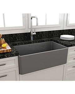 Paco Jaanson - Bocchi Casa Ceramic Kitchen Butler Sink 750mm MATTE GREY