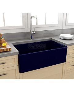 Paco Jaanson - Bocchi Casa Ceramic Kitchen Butler Sink 750mm GLOSS SAPPHIRE