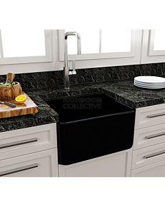 Paco Jaanson - Bocchi Casa Ceramic Kitchen Butler Sink 500mm GLOSS BLACK