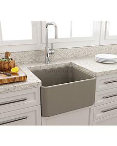 Paco Jaanson - Bocchi Casa Ceramic Kitchen Butler Sink 500mm MATTE CASHMERE