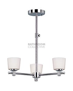 Elstead - Binstead Traditional Bathroom Chandelier in Chrome
