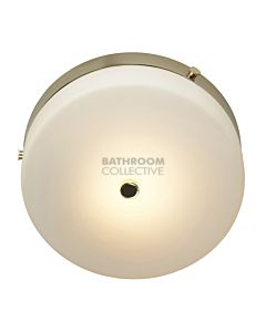 Elstead - Tamar Flush Medium Traditional Bathroom Ceiling Light in Polished Gold