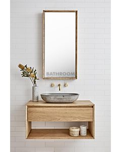 Loughlin Furniture - Baxter 1200mm Real Timber Wall Hung Vanity