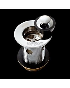 Harbic Brassware - 32MM Basin Waste with Bowen Stopper & 80mm Tail