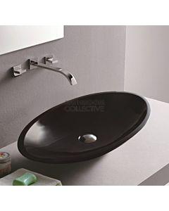Fienza - Bahama Gloss Black Solid Surface Vessel Basin