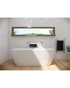 Decina - Cool 1790mm Oval Freestanding Lucite Acrylic Bath