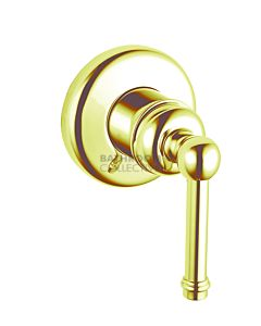 Bastow Tapware - Federation Shower Wall Mixer BRASS GOLD