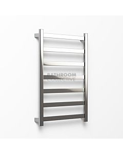 Avenir - Hybrid 1020x750mm Heated Towel Ladder - Brushed Stainless Steel
