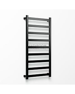 Avenir - Hybrid 1320x750mm Heated Towel Ladder - Matte Black