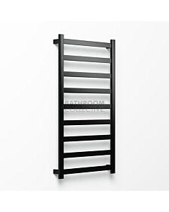 Avenir - Hybrid 1320x750mm Towel Ladder - Matte Black