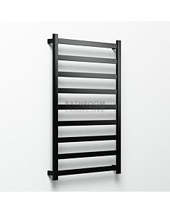Avenir - Hybrid 1320x900mm Heated Towel Ladder - Matte Black