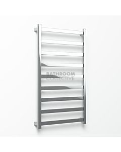Avenir - Hybrid 1320x900mm Heated Towel Ladder - Mirror Stainless Steel