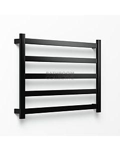 Avenir - Hybrid 720x1050mm Heated Towel Ladder - Matte Black