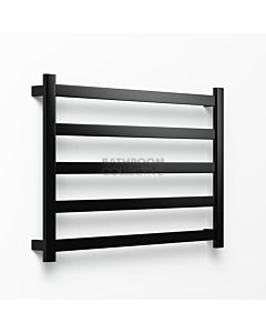 Avenir - Hybrid 720x1050mm Towel Ladder - Matte Black
