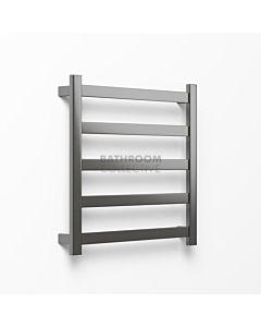 Avenir - Hybrid 720x750mm Heated Towel Ladder - Graphite
