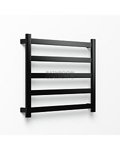 Avenir - Hybrid 720x900mm Towel Ladder - Matte Black
