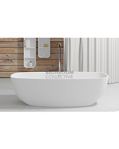 Paco Jaanson - iStone 1800mm Freestanding Stone Bath Tub GLOSS WHITE