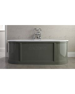 Imperial - King Charles Bath 1775mm Cast Iron Bath