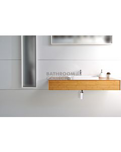 ADP - Maxwell Bamboo Wall Hung Vanity 1200mm, 25mm Bamboo Top (basin not included)