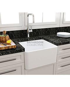 Paco Jaanson - Bocchi Casa Ceramic Kitchen Butler Sink 500mm MATTE WHITE