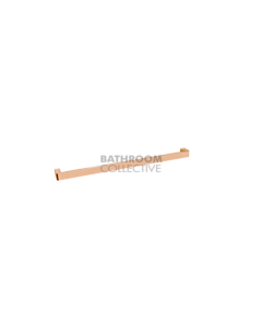 Jamie J - Brooklyn Single Towel Rail 600mm POLISHED ROSE GOLD