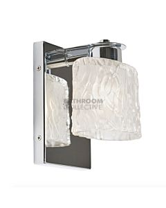 Elstead - Seaview Traditional Bathroom Wall Light in Polished Chrome
