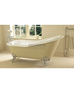 Imperial - Ritz 1700mm Cast Iron Highback Clawfoot Bath