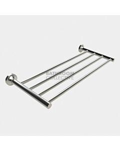 Emroware - Diamond Four Bar Towel Rack 600mm Satin Stainless Steel