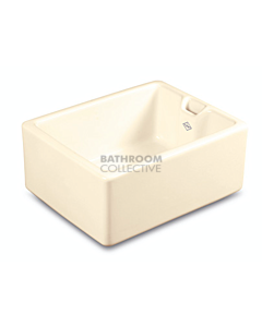 Shaws of Darwen - Belfast Fireclay Sink 595 x 460 x 255mm BISCUIT