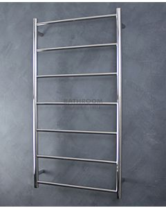 Radiant - Round 7 Bar Towel Ladder 1130H x 600W POLISHED STAINLESS
